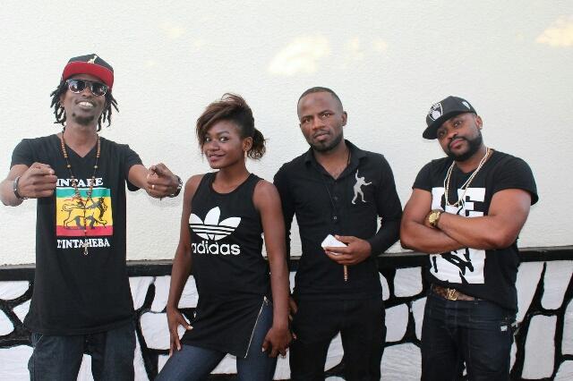 Le groupe ''Tolerance'' composé de musiciens venus du Burundi, du Rwanda et de la RDC