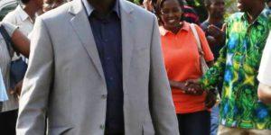 Me Armel Niyongere lors d'une manifestation