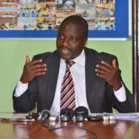 Le président de Parcem en train de dresser l'état des lieux de la corruption au Burundi.