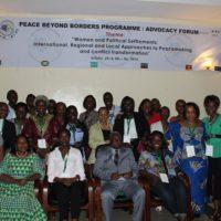 Les femmes de la sous-région se mobilisent pour la paix au Burundi