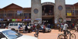 Marché de Ngozi. Les commerçants ont suspendu temporairement les importations à l'étranger