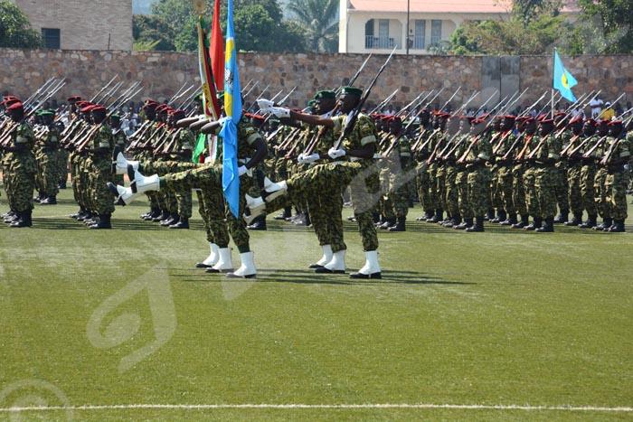 Les militaires burundais portaient une nouvelle tenue différente de celle à laquelle on est habitué