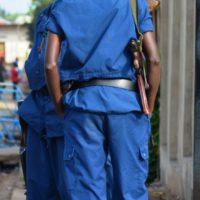Une patrouille policière