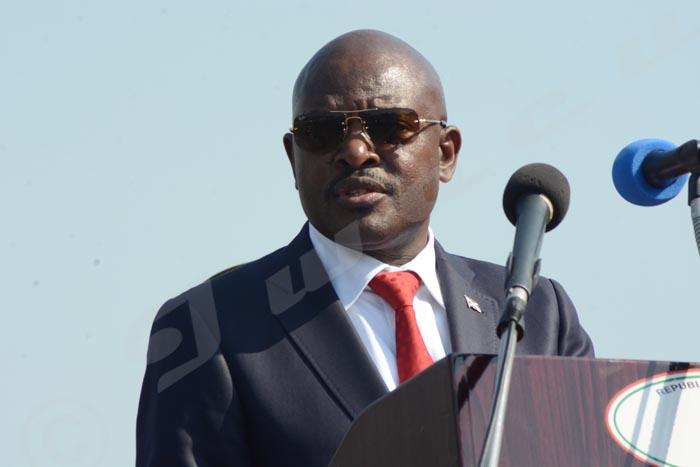Pour le président Pierre Nkurunziza, être traitre peut vous poursuivre sur plusieurs générations