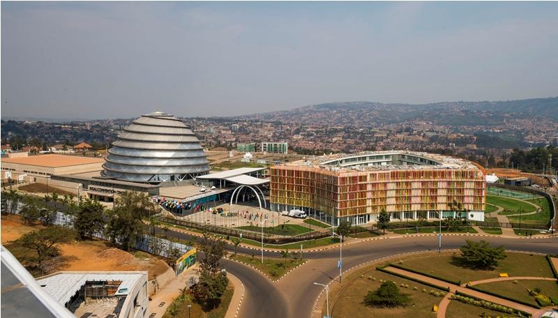 Le ''Kigali Convention Centre''