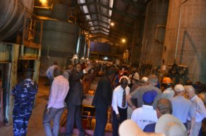 Journée diplomatique : les diplomates ont eu droit à une visite guidée de la Sosumo