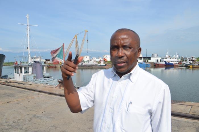 Bonaventure Sinzobakwira : « L'AMPF n'a pas le droit de percevoir des redevances au port de Bujumbura. »