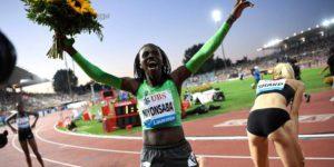 Francine Niyonsaba s'impose sur le 800m à Lausanne