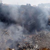Les produits détruits dégagent une odeur nauséabonde