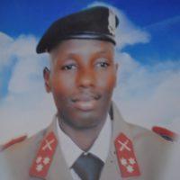 Le capitaine Claver Ndayisaba