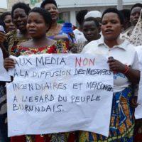 Samedi, 3 septembre-Manifestation des femmes à Bujumbura ©O.Nibigira/Iwacu