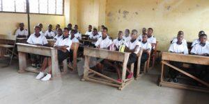 Des élèves de l'Ecole Fondamentale