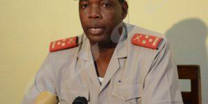 Gaspard Baratuza, porte-parole du MDNAC:«Cette mesure vise la restauration des équilibres au sein des corps de défense et de sécurité.»