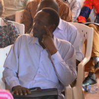 Salvator Nahimana, journaliste à la radio Maria, arrêté hier avec neuf autre personnes à Mutakura.