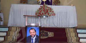 Mercredi, 26 octobre 2016 - Célébration d'une messe en mémoire du journaliste Vincent Nkeshimana, ancien directeur de la radio Isanganiro. ©L.J.M/Iwacu