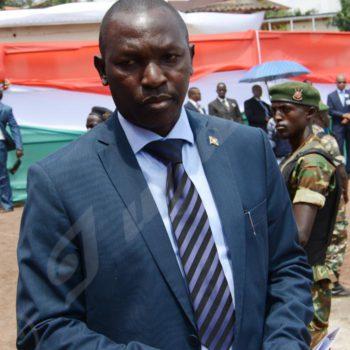 Pascal Barandagiye, ministère de l'Intérieur et de la Formation Patriotique