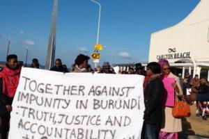 Manifestation à La Haye : « Nkurunziza a quitté la CPI mais pas le peuple burundais »