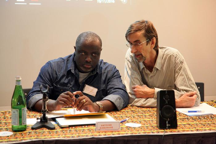 Un journaliste traduit à Antoine Kaburahe l'hommage rendu au travail d'Iwacu