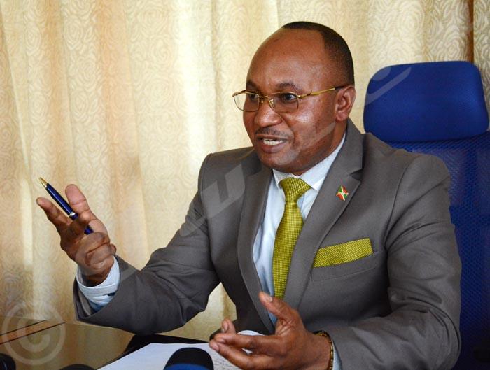 Alain Guillaume Bunyoni : «Les objectifs du ministère de la Sécurité publique pour 2016 ont été atteints à 90%»