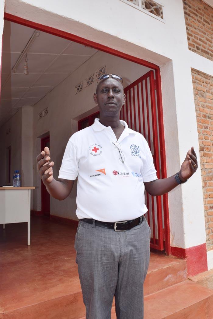 Emmanuel Kayengayenge : « « Nous recevons entre 30 et 50 appels par jour, et 84% des interventions concernent des appels faits par des hommes.»