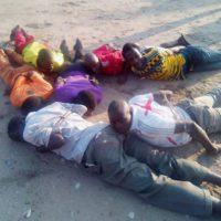 Les huit personnes arrêtées puis ligotées dans le secteur Rukaramu