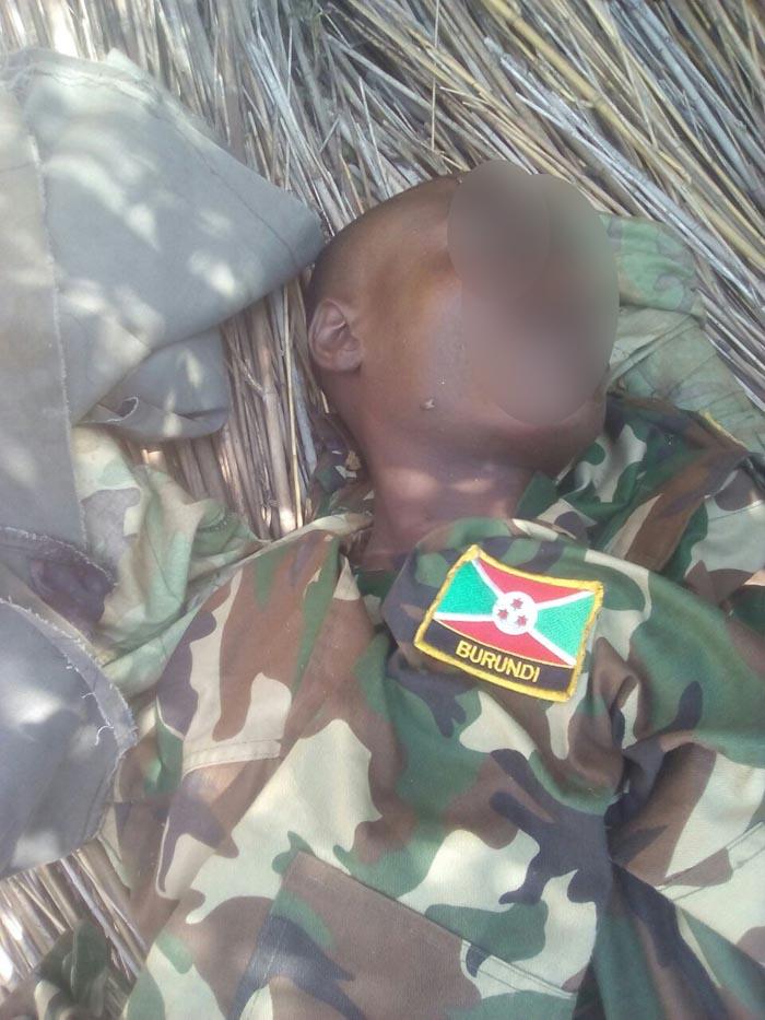 Un des militaires qui seraient morts lors de ces combats.