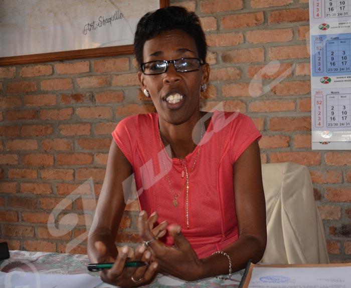 Pour la directrice du lycée municipal de Rohero, ces séances sont bénéfiques pour les élèves