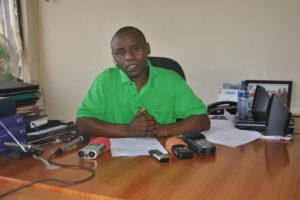 Gabriel Rufyiri, président de l'Olucome, un des leaders des organisations de la société civile engagées contre la vie chère.