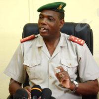 Gaspard Baratuza, porte-parole du MDNAC:«Une attaque de moins dix personnes contre un camp de plus de 600 militaires, ce serait une aventure que personne ne peut comprendre.»