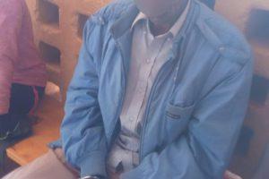 Le présume violeur de Gitega, le jour de son interpellation