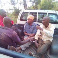 Quelques suspects arrêtés aux alentours de Mukoni