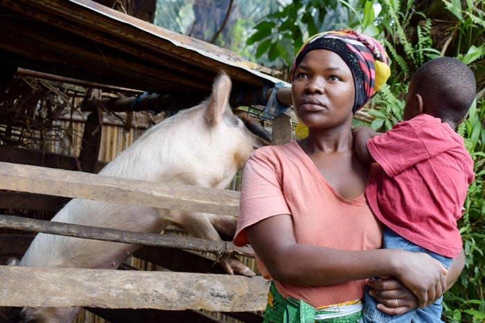 Yvonne Munezero affirme que par le biais des  ''Maman-Lumières'', PROPA-O a sauvé son fils