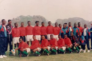 Debout de gauche à droite, Coach adjoint Radjabu alias Manu, Kakenge Hakizimana (gardien), Morki, Massoudi, Wilondja, Rukundo Banza, Kapinga Mukubwa, Saleh Omar , Blaise Butunungu, Emedi Ndikumana, Willy Wanga, Magnifique Ndikumana, Coach adjoint Kiza  Accroupis  Daudi Shabani (C), Feruzi Haruna ,Freddy Ndayishimiye, Félicien Mbanza, Saidi Ndabaniwe, Maoulidi Jumapili, Mahigihigi Anzuruni (gardien), Éric Karikumutima,dit Bomba