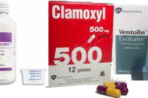 Quelques-uns des médicaments qui ne sont plus disponibles.