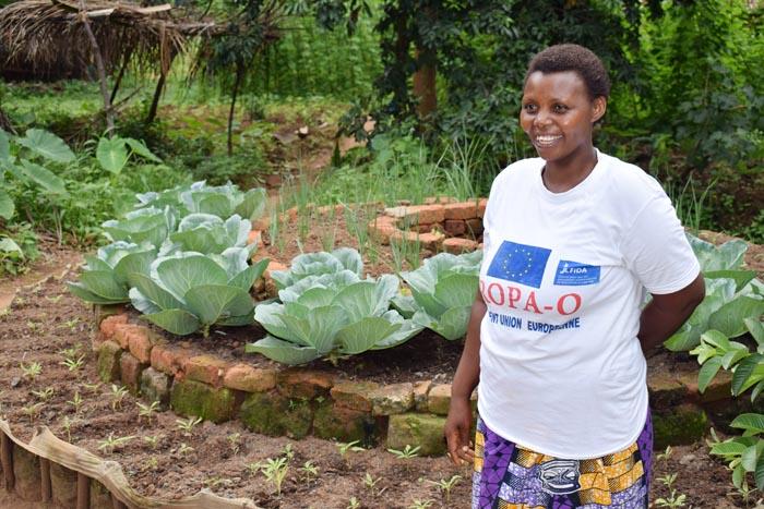 Josiane Mbonimpa, une des huit ''Maman-Lumières'' de Rumonge