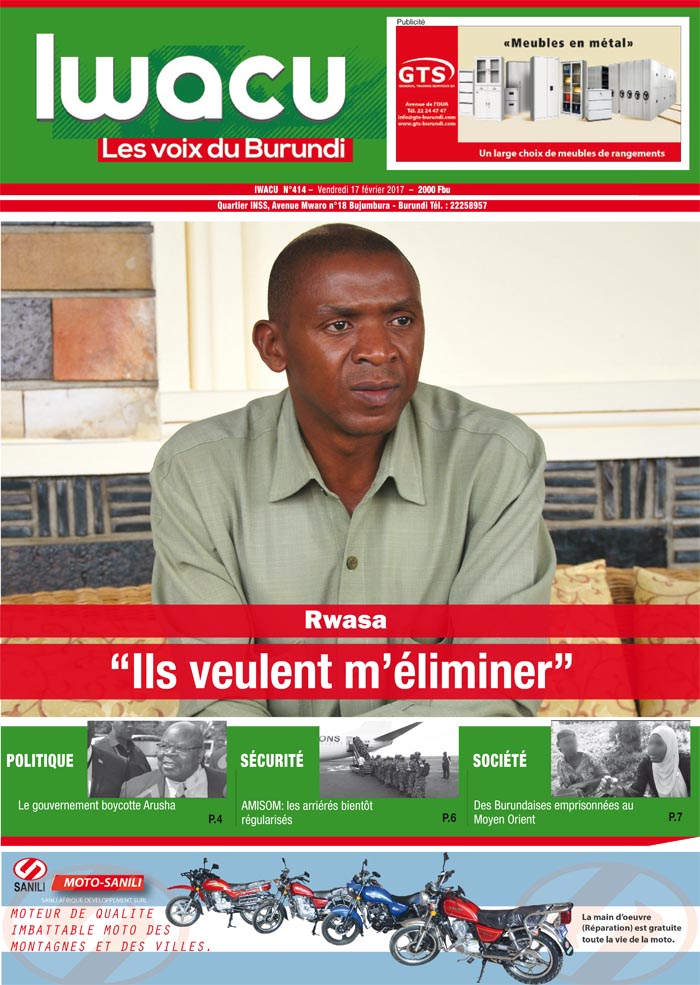 Iwacu hebdomadaire