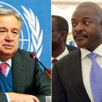 SG de l'Onu : nouvelle cible de Bujumbura ?