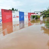 Vendredi, 17 mars 2017 - Pluies diluviennes de la nuit du 16 mars. Des infrastructures inondées sur la route menant à l'aéroport de Bujumbura