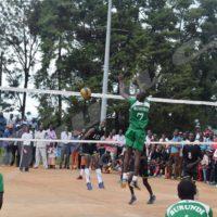 Le lycée Christ Roi de Gitega vs lycée technique Saint Luc lors de la finale