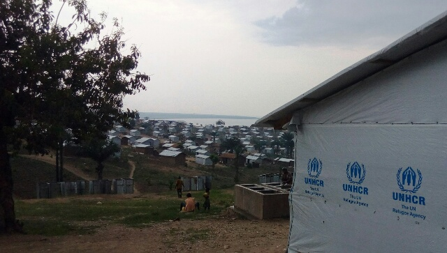 Camp des réfugiés burundais de Lusenda