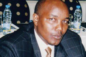 Ernest Manirumva, ancien vice-président de l'Olucome, assassiné dans  la nuit du 8 au 9 avril 2009