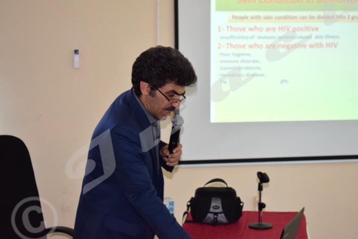 Dr Seyed Nasser Emadi: « Il faut toujours avoir un oeil attentif car nombre de ces lésions peuvent être dues au VIH/Sida. »