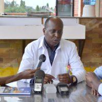 Dr Christophe Sahabo, DG de l'hôpital Kira : «Il pourra vaquer à toutes activités. »