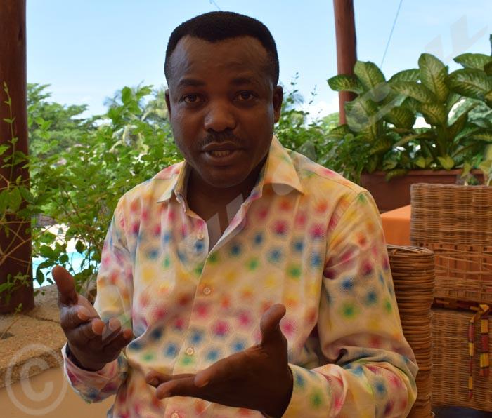 John Hero Ndinimana, l'initiateur de ce concours.