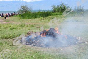 Une centaine de moustiquaires et d'autres filets prohibés détruits