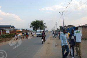 Zone Kamenge, la nuit tombée, les mouvements des gens sont limités