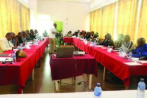 Les responsables des partis politiques à Gitega ont adopté plusieurs résolutions © Droits résevés