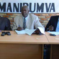 Quelques leaders de la société civile burundaise en exil, initiateurs du mouvement ''Halte au 3ème mandat''