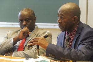 Antoine Kaburahe et Pierre Claver Mbonimpa