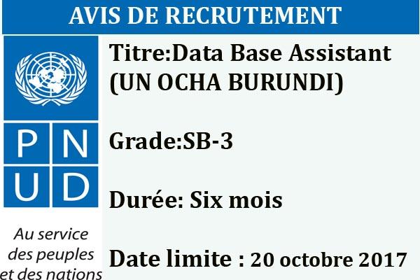 http://www.iwacu-burundi.org/wp-content/uploads/2017/10/PNUD-10-OCT-Avis-de-publication-dUne-Data-Base-Assistant-UN-OCHA-Burundi-2017.pdf